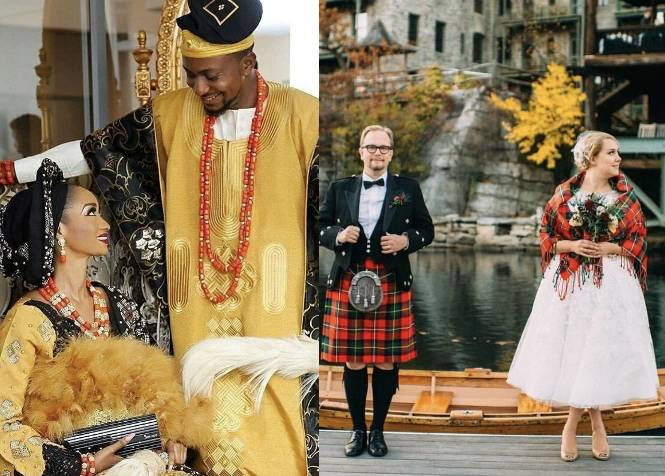 Check out Traditional Wedding Outfits in Different Countries Around the World