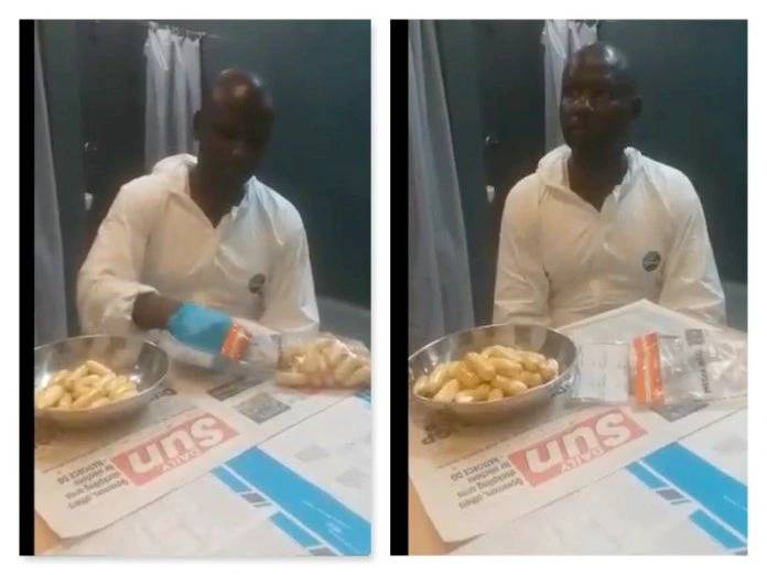 Busted drug trafficker Obiora excretes 97 wraps of cocaine [Video]