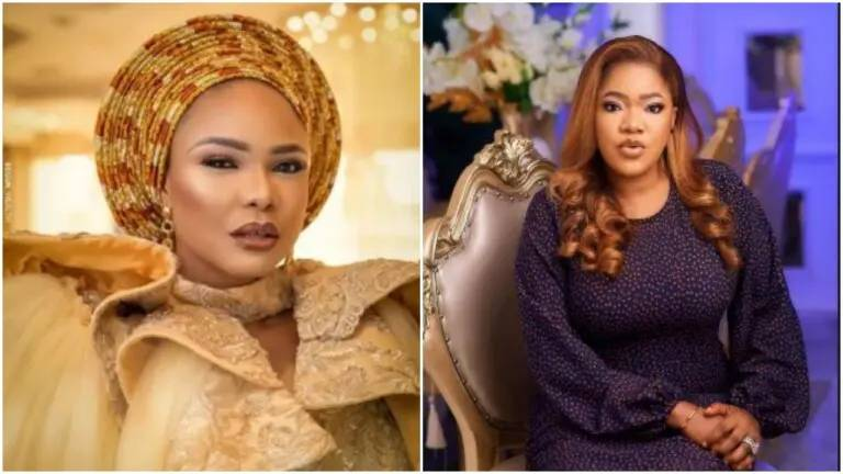 'I love you yesterday, today, and forever more' – Toyin Abraham gushes over Iyabo Ojo