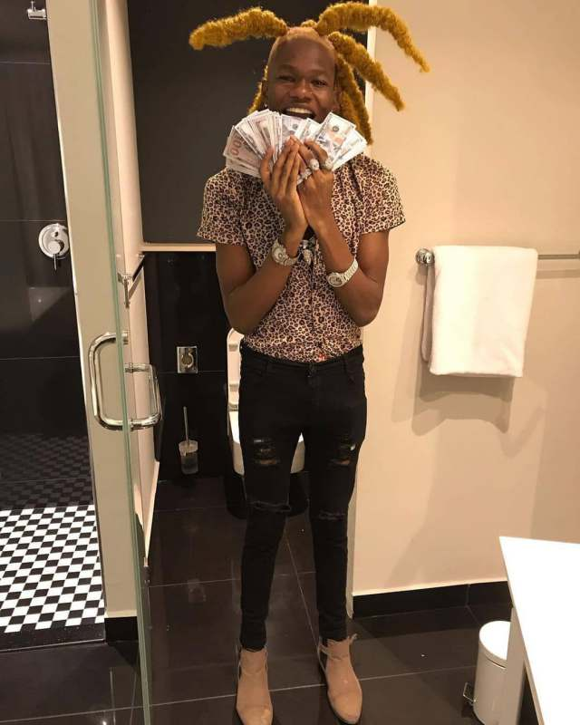 """""""My microwave can buy Davido's car and leave change"""" – Singer, NBA Geeboy brags"""