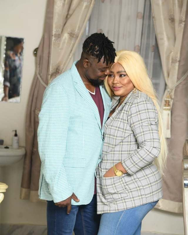 """""""May your union be blessed"""" – Regina Daniels' brother reacts to his mother's alleged marriage"""