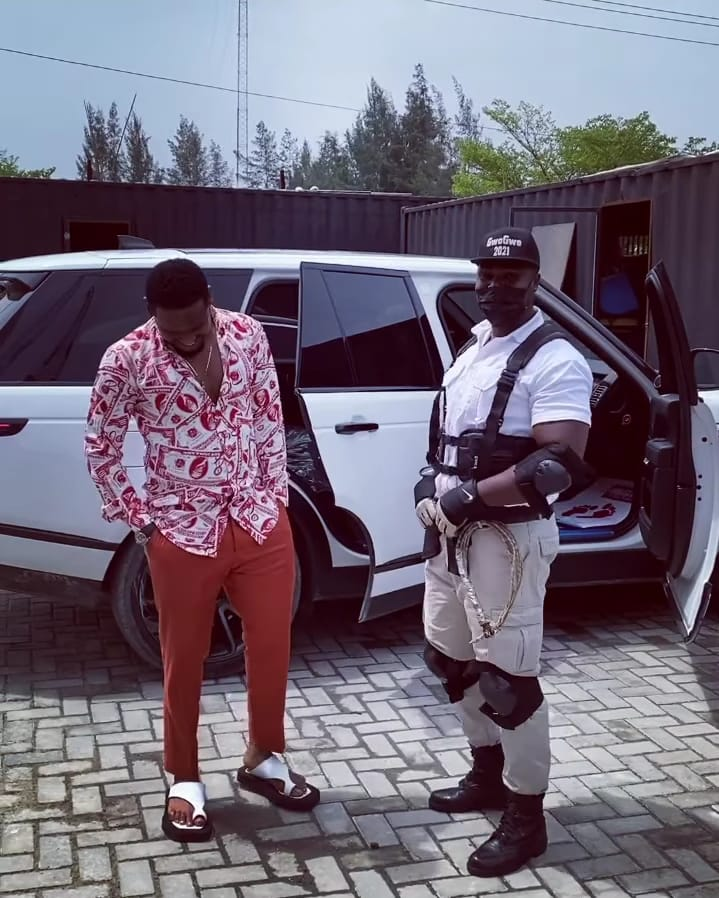 Actor, Zubby Micheal flaunts his new exotic ride (Video)