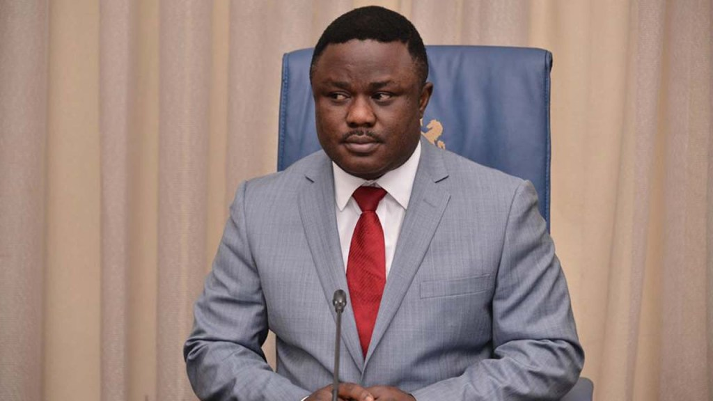 Governor Ayade vows to deal with anyone who protests in Cross River state on June 12
