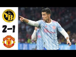 Highlights: Young Boys 2 - 1 Manchester United (Champions League) 2021/22