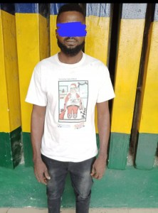 32-year-old married man arrested for allegedly defiling neighbor's 13 year old daughter in Lagos (Photo)