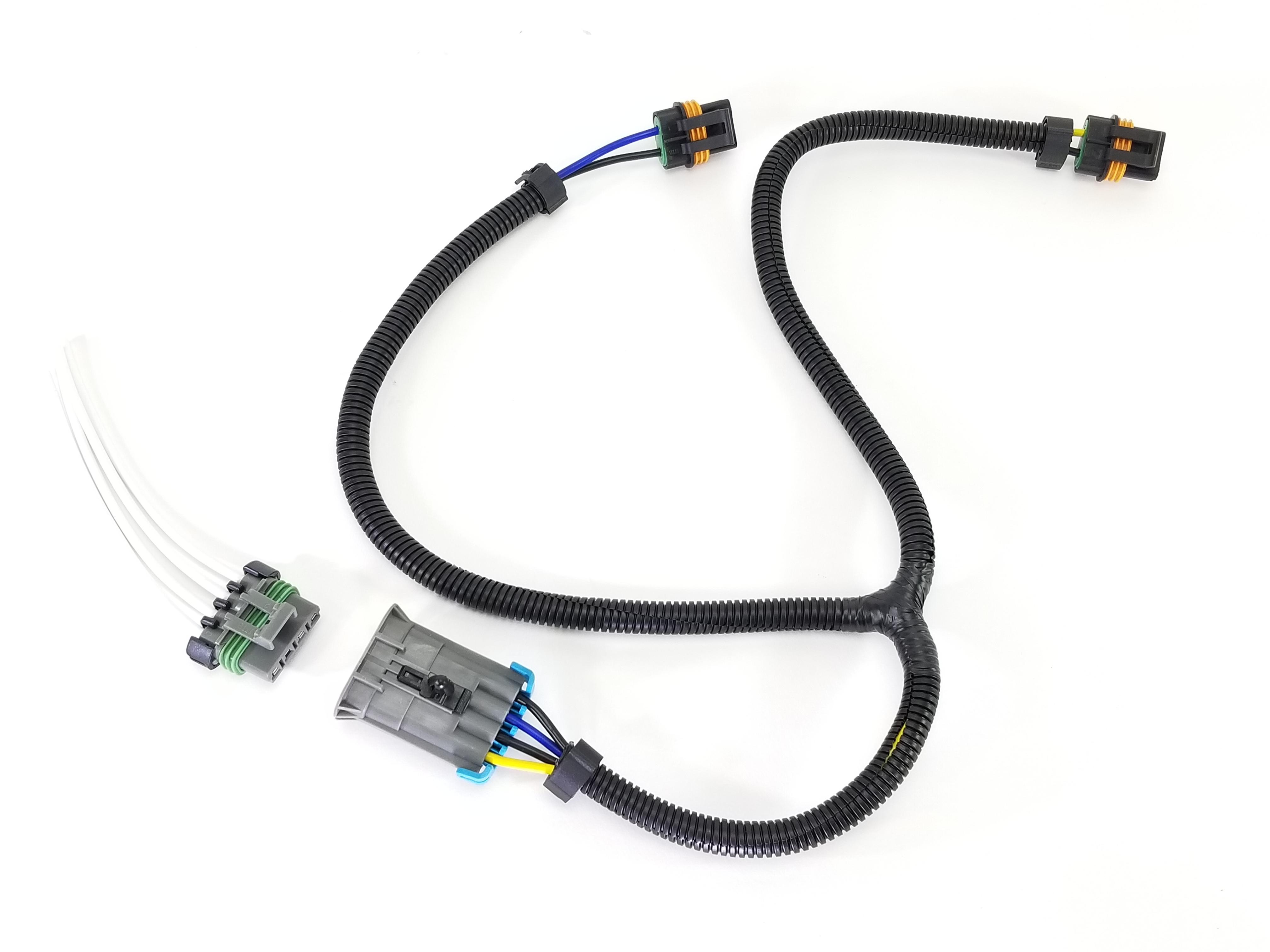 Gm Dual Cooling Fan Harness And Pigtail For F Body Style