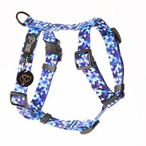 Szelki norweskie dla psa, kolekcja Shine in Blue