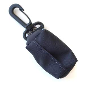 Kupownik, torebka na woreczki do sprzątania po psie, kolekcja Classic Black