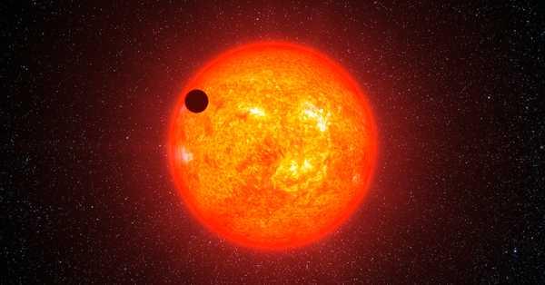 Красные звезды в космосе – Красные карлики - вечные звезды