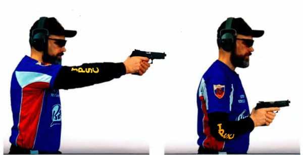 Стойка при стрельбе из пистолета – Стрельба из пистолета ...