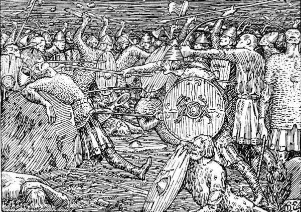 Викингов битвы – 10 битв с участием викингов
