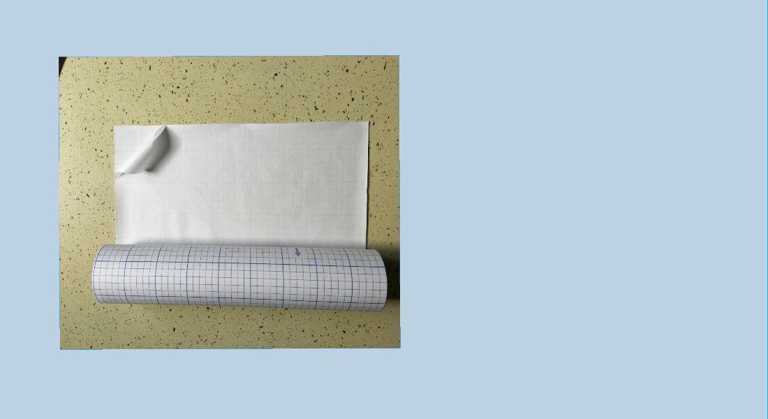 fizelina ułatwiająca haftowanie na tkaninach