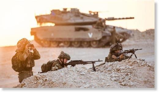 Izraelskí vojaci spustili streľbu na vlastné práškovacie lietadlo. -video-