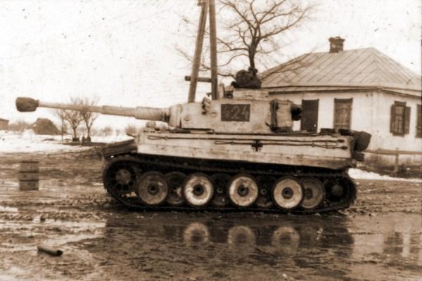Охотничьи тропы 171Тигра187 Немецкий тяжелый танк quotТигр