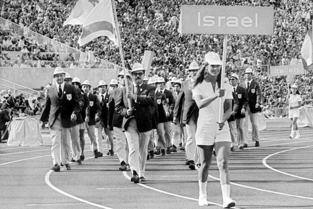 Сборная Израиля на открытии Олимпиады в Мюнхене - Мюнхен-1972: точка отсчёта для антитеррора | Warspot.ru