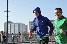 rozgrzewka przed maratonem