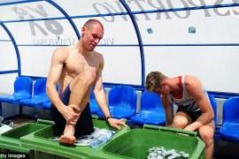 kąpiel lodowa
