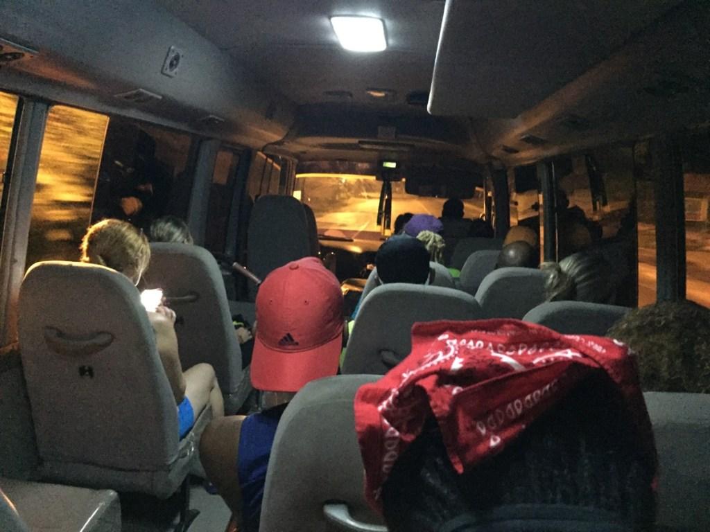 Wolne miejsce w busie, na Jamajce to się nie zdarza normalnie :)