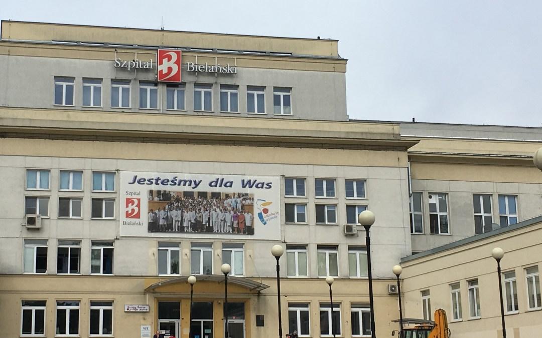 Radni walczą o chirurgię dziecięcą w Szpitalu Bielańskim