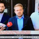 Radni PiS żądają usunięcia z Internetu spotu wyborczego Rafała Trzaskowskiego