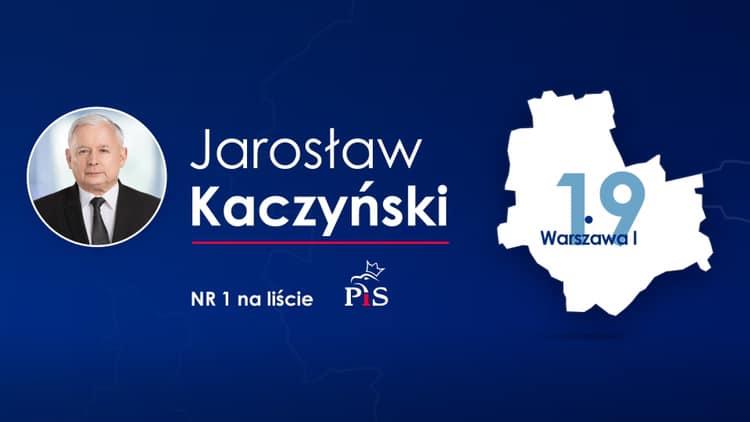 """Znamy """"jedynki"""" PiS na wybory parlamentarne"""