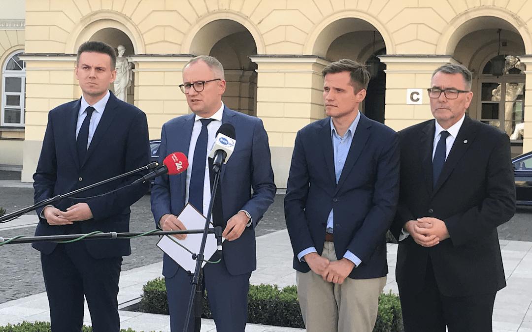 Poboży: Trzaskowski ogłosił awarię całej Warszawy