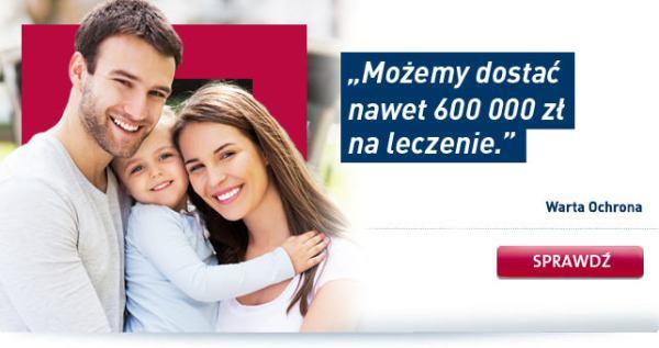 Ubezpieczenie na życie Warta Ochrona - tel. 501 620 325