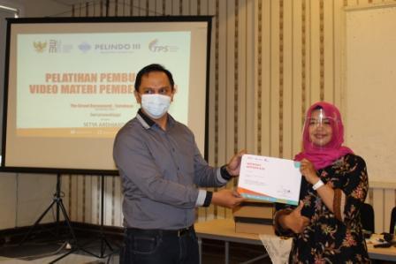 Dukung Guru Go-Digital, TPS Menggelar Pelatihan Pembuatan Video Mengajar