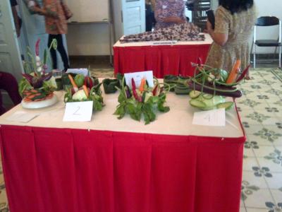 Lomba Merangkai Sayuran| Foto oleh Salca Putri Wahyu Andria