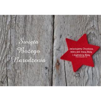 Plakat Boże Narodzenie 2017 - gwiazda-5016