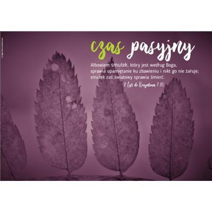 Plakat - Pasja, liście