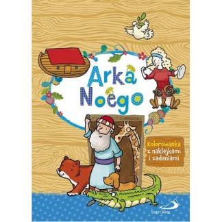 Arka Noego - kolorowanka z naklejkami