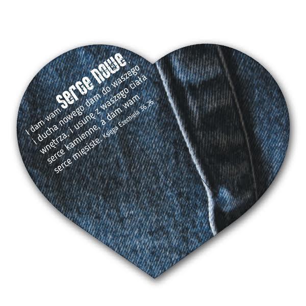 Kartka Warto z hasłem roku - Jeans