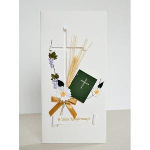 Kartka konfirmacyjna - Biblia