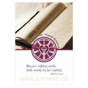 Plakat Luter Reformacja