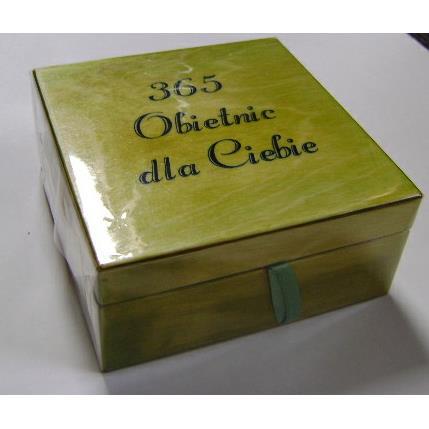 Pudełko 365 Obietnic dla Ciebie