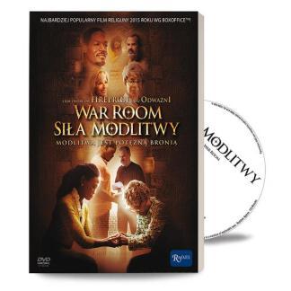 Siła modlitwy - War Room - książeczka + DVD