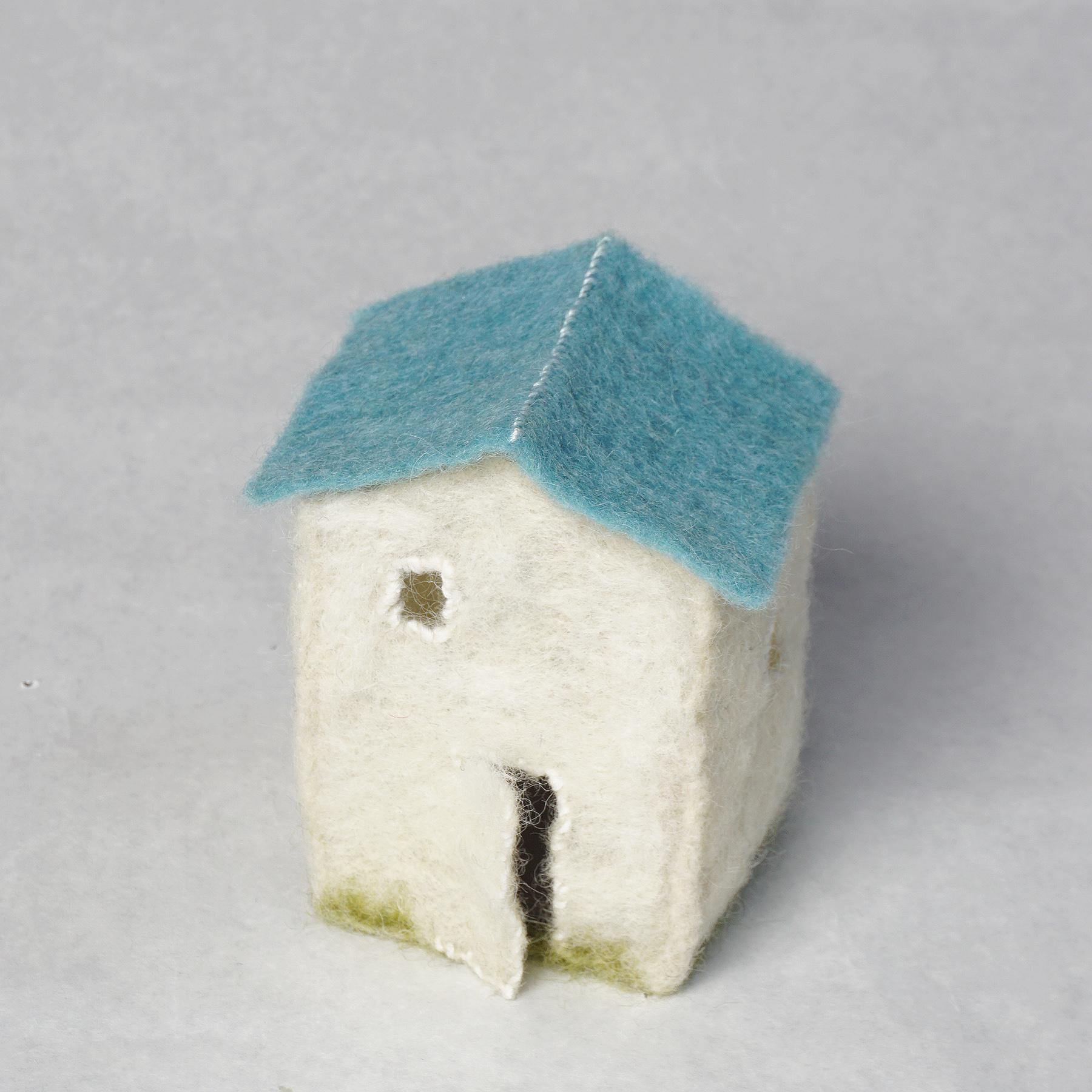 """needle felted """"lantern house"""