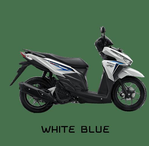 vario 125 2016 white blue