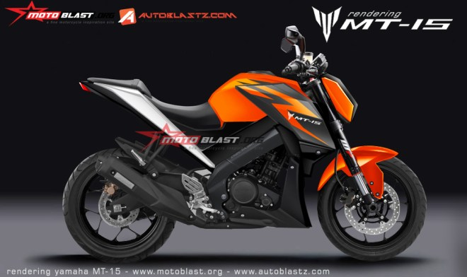 yamaha mt 15 orange