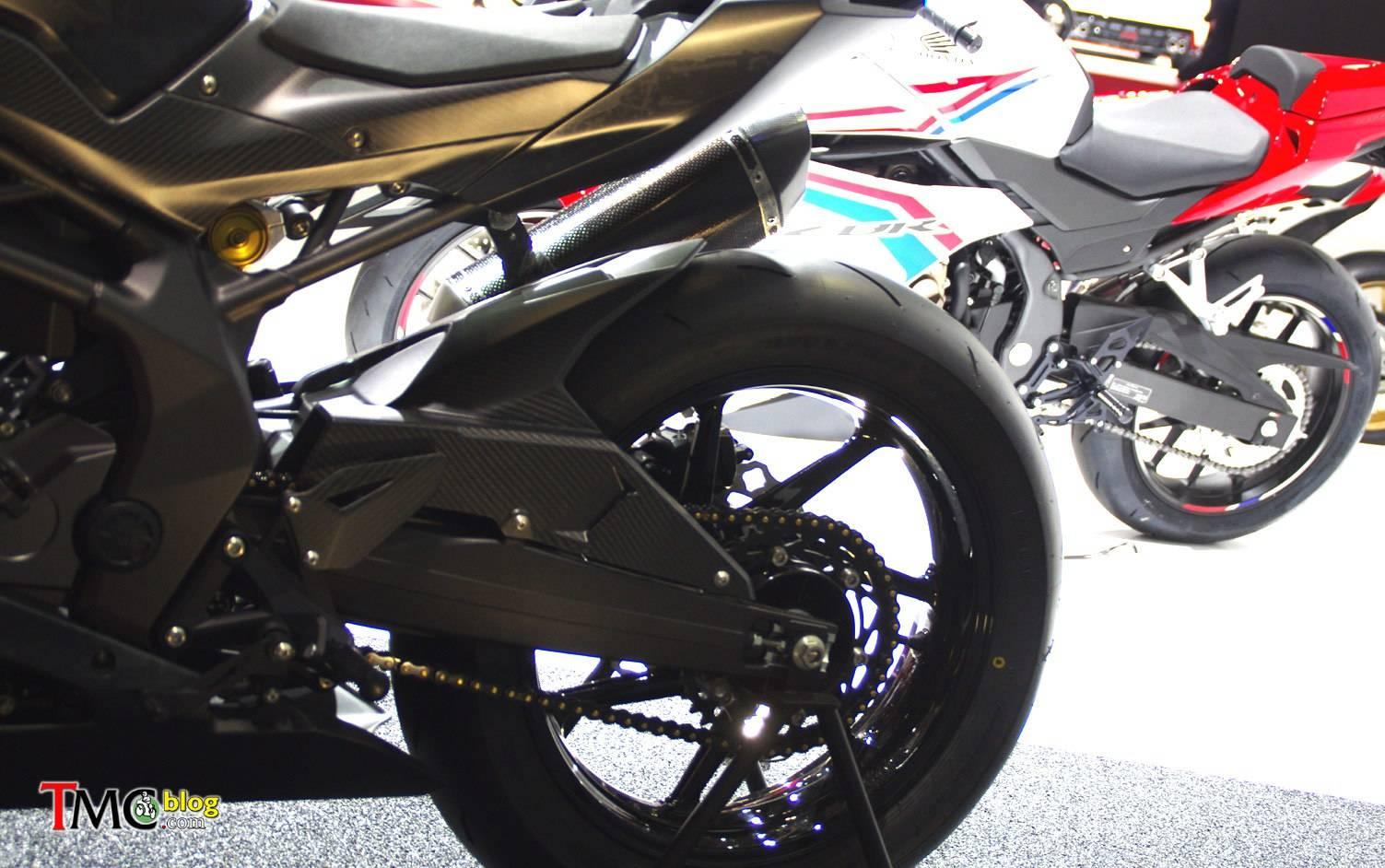 Desain Honda CBR500R, Miliki Garis Yang Tajam