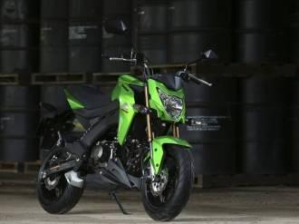 z125 hijau
