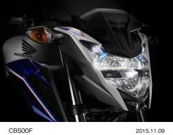 headlamp cb500f