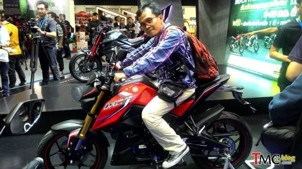 Ketika Blogger naik Yamaha MT15