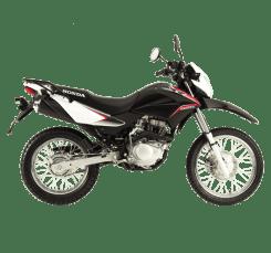 Honda xr150l hitam