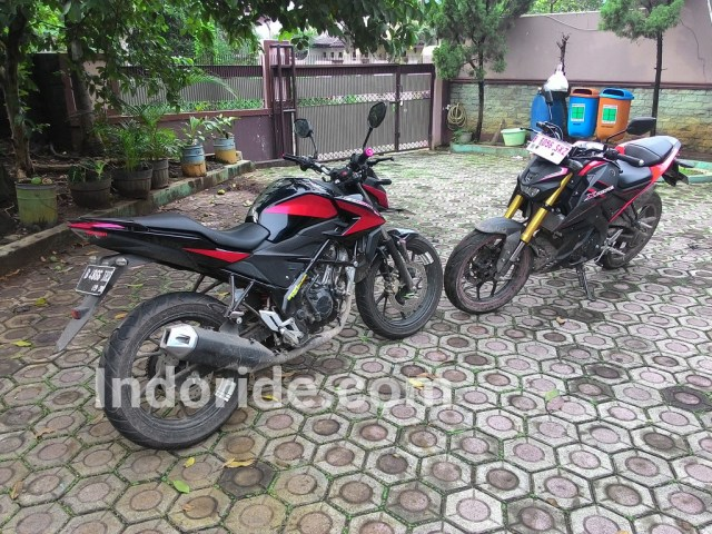 Rangka teralis, mesin DOHC, suspensi biasa vs rangka Deltabox, SOHC plus swing arm banana dan suspensi depan USD
