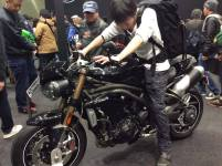 tigers triumph tokyo motorcycle show 2016