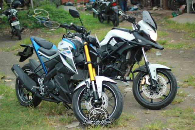 xabre vs cb150x