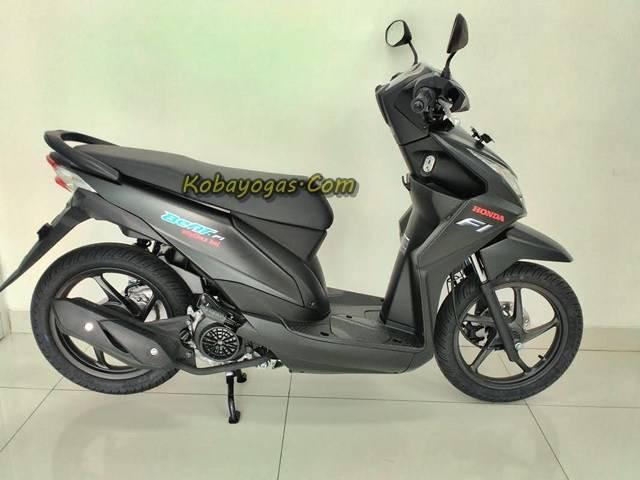 Honda Beat Sporty Hitam Doff  (pict kobayogas)