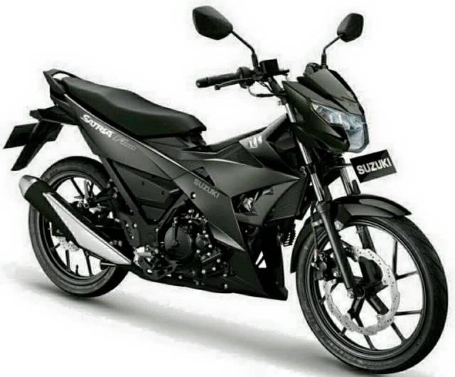 Suzuki Satria F150 Injeksi Warna Hitam Doff Black Predator